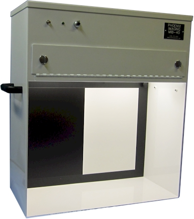MIB-40 Manual Inspection Booth with Top Lighting as specified by EP