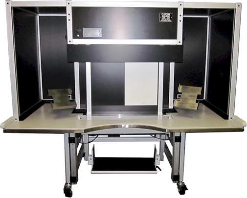 MIB-90 Manual Inspection Booth with full compliment of options