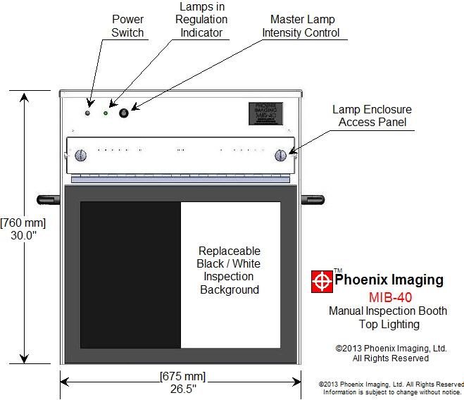 Phoenix Imaging MIB-40 Front View
